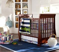 Alligator Madras Nursery Bedding Set From Pottery Barn Kids