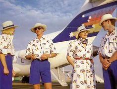 The Airline: Ansett Australia and Vintage Uniform ~ World stewardess Crews