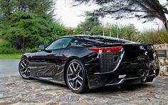 Lexus Supercar Back Side