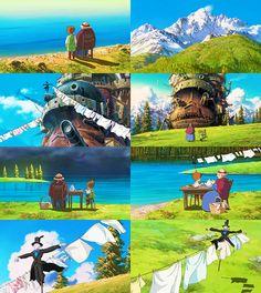 howl's moving castle #StudioGhibli #HayaoMiyazaki @HayaoMiyazaki @StudioGhibli  #howl's