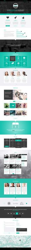 Omni is a high quality, flat and full responsive WordPress theme for creative businesses or photographers. It's very easy to include pages and separators to a page. Add unlimited pages and separators to each page and sort them to your own liking! It comes with 5 header options, a fullscreen Portfolio, a Parallax header or a Video header, Revolution Slider and a 2D/3D Layer Slider header!