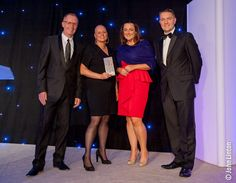 Clare Smith MCIPR from the Scottish Government picks up her Communicator of the Year award