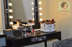 1000 Images About Beautified Vanity Mirrors And Makeup