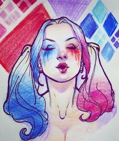 Suicide Squad Herley Quinn by Lucas Werneck