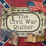 The Civil War Quilter..this is a great blog,I like her quilts and garden, I would also like to see some fresh garden recipes.This gives me ideas.