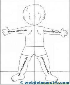 Lateralidad: recortar-espalda