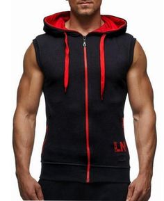 7934dcfe6 Male Bodybuilding Hoodies Fitness Clothes Hoody Cotton Hoodie Men  Sweatshirts Men's Sleeveless Tank Tops Casual Vest