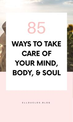 Are you having a bad day? Here is a list of 85 best self-care Ideas to help you when you are having a bad day. The best self-care habits. Mind Body Soul, Body And Soul, Take Care Of Yourself, Improve Yourself, Chakra, Eat Better, Motivational Words, Care Quotes, Self Care Routine