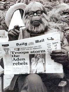 Sci-Fi Greats: Planet of the Apes. Dr. Zaius reads.