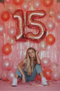 15th Birthday Party Ideas, 16th Birthday Decorations, Birthday Goals, 14th Birthday, Birthday Photoshoot Ideas, Cute Birthday Pictures, Birthday Party Photography, Bday Girl, Tumblr Birthday