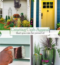 With warm weather around the corner, it's time to think about Creating Curb Appeal You Can Be Proud Of! Take a look at these examples presented by The House Of Smiths. @ http://blog.homes.com/2013/04/ways-to-create-great-curb-appeal-for-your-home/