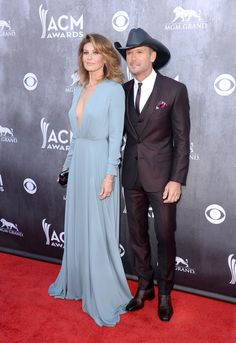 Faith And Tim Academy Of Country Music Awards Mcgraw