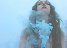 Smoke Bomb Portrait Photography: Marie by Noray and the Moon