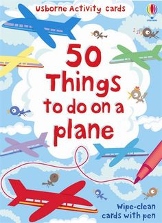 50 Things to Do on a Plane (Usborne Activity Cards) (Activity and Puzzle Cards) Creative Activities For Kids, Travel Activities, Fun Activities, Travel Toys, Vacation Trips, Vacation Places, Vacations, Kids Cards, Travel With Kids