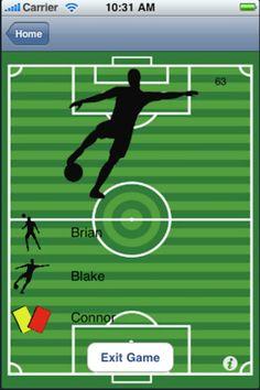 soccer fan fun iphone game app reviewed by @Techatlast