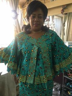 FROM DRC African Traditional Dresses, Latest African Fashion Dresses, African Print Dresses, African Dresses For Women, African Print Fashion, Africa Fashion, African Attire, African Women, African Blouses