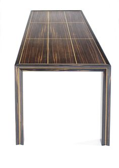 Macassar coffee table.