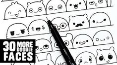 video tutorial: doodle faces