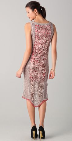 Rachel Roy Techno Tape Knit Dress | SHOPBOP