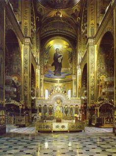 The Vasnetsov Madonna, St Vladimir's Cathedral, Kiev. #Orthodox #Christianity
