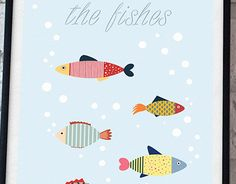 "Check out new work on my @Behance portfolio: ""the fishes"" http://be.net/gallery/53412603/the-fishes"