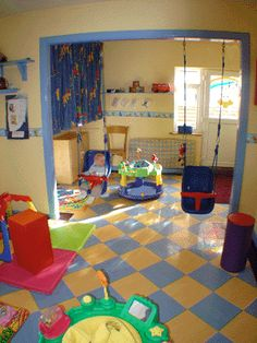 Baby Daycare Rooms