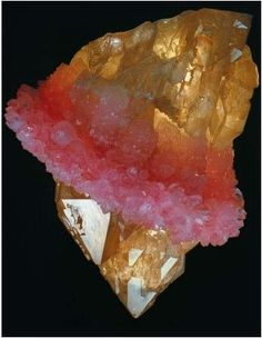 "Called the ""Pink Tutu"" because of its rose quartz frill. The smoky quartz formed first, then the rose quartz -Brazil"