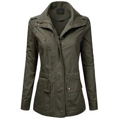 For the Barbour Ladies Waxed 'Defence' Jacket