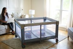 Romp and Roost Twin PlayPen