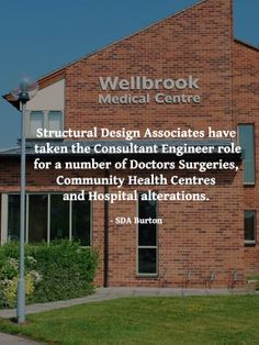 Structural Design Associates provide a professional, pro-active consultancy in civil and structural engineering for public and private sector Clients. 1A & 2A Oaktree Business Park Cadley Hill Road, Swadlincote Derbyshire, DE11 9DJ Tel: 01283 551111 Fax: 01283 551119 Email: consult@sda-burton.co.uk