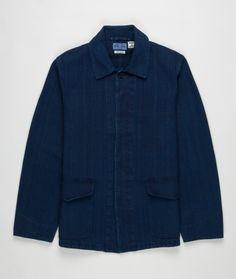 Pure Indigo Sashiko Jacket