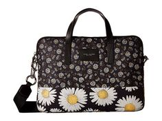 MARC JACOBS Byot Mixed Daisy Flower Tech 13 Commuter Case. #marcjacobs #bags #shoulder bags #hand bags #cotton #