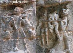 Castigos de la lujuria en la catedral de Tudela