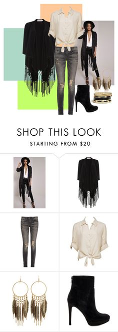 """""""Untitled #43"""" by pertiwiluthfia ❤ liked on Polyvore featuring Soaked in Luxury, R13, Charlotte Russe, Panacea, Sam Edelman and GUESS"""