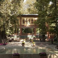 عمارت مستوفی الممالک زیبایی معماری ایرانی by alibakhtiar68