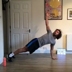 Good morning world Try this quick HIIT session You only need 20 minutes and a small space to get your fat burner fired up for the whole day - Do 40 seconds on each exercise - Rest for 20 seconds between each one - Repeat circuit for 20 minutes The neighbours in the flat below must love me #Leanin15 #HIITWhereWeWant #workoutwednesday #exercise #fitness #fitspo #fitfam #fit #workout #hiit #hiitcardio #health #fitness #nutrition #instagood #instafit