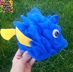 FINDING DORY SHOWER POOF CRAFT