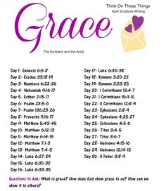 {Affiliate Links Used.} In 2011, I selected a Word of the Year: GRACE. Little did I know what a tough year it would be. I would hav...