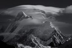 Mount Haramosh 7409m.. by M-Atif-Saeed.deviantart.com on @deviantART