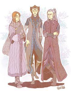 Ori&Nori&Dori  If dwarves were elves.