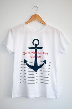 Camiseta Que el Amor nos Salve de la Vida | Mujer