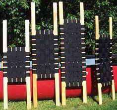 Wenonah Wood Web Seat