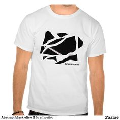Abstract black eliso II Camiseta