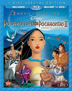 Pocahontas Two-Movie Special Edition (Pocahontas / Pocahontas II: Journey To A New World) (Three-Disc Blu-ray/DVD Combo in Blu-ray Packaging) Blu-ray ~ Mel Gibson, http://www.amazon.com/dp/B0084IHVIY/ref=cm_sw_r_pi_dp_pqvQqb0ETKQY6