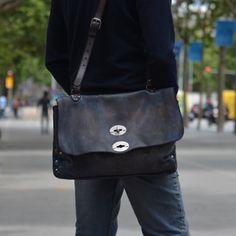 Numero 10 - unisex leatherbag (Brussosa) Leather Bag, Purses And Bags, Messenger Bag, Boss, Satchel, Black Bags, Shoulder Bag, Unisex, Travel