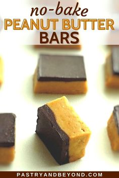 You can make these healthy chocolate peanut butter bars without graham crackers, using oatmeal. These easy no bake snacks are perfect to stop your sweet cravings. Peanut Butter Chocolate Bars, Healthy Peanut Butter, Healthy Chocolate, Delicious Chocolate, Healthy Baking, Healthy Recipes, Easy Recipes, Healthy Snacks, Easy Sweets