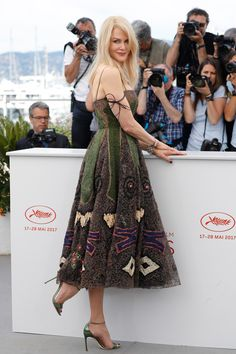 "5.23.17  Nicole Kidman, in Dior S17 HC (Look 30), at ""The Killing of a Sacred Deer"" photocall during Cannes FF"