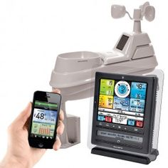 """AcuRite 8"""" Professional Digital Weather Station with Weather Ticker & PC Connect 01036"""