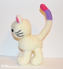 Ravelry, #crochet, free pattern, amigurumi, Suze the cat, stuffed toy, #haken, gratis patroon (Engels), kat, knuffel, speelgoed, #haakpatroon