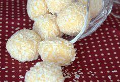 Truffes a la noix de coco Bonjour tout le monde, Avant de vous poster la recette de ces délici...